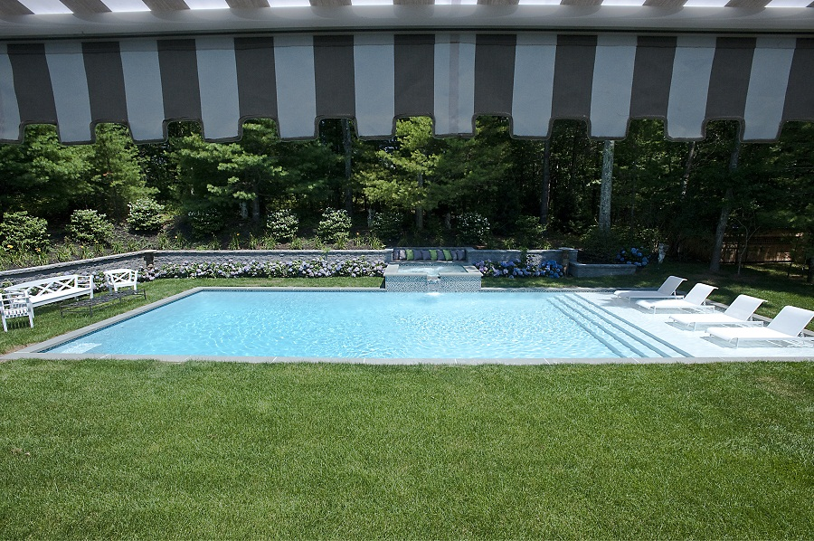 East hampton zen jack anthony swimming pools for Pool design hamptons