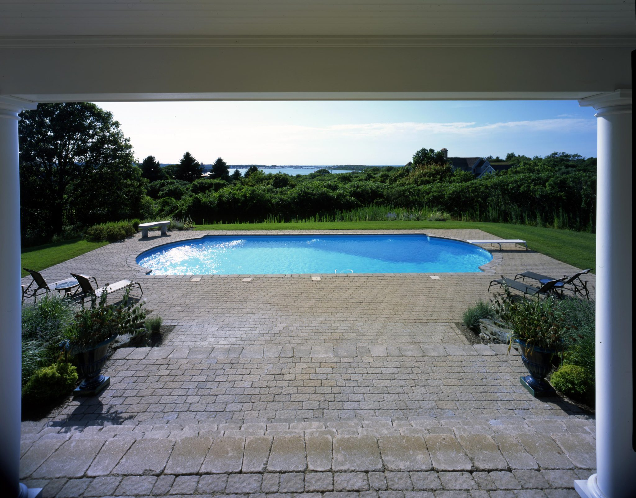 Southampton Village Water Feature Jack Anthony Swimming Pools